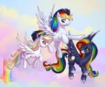 Rainbow kids commission