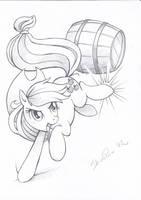 Barrel bucking by ShinePawPony