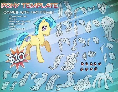 Pony template