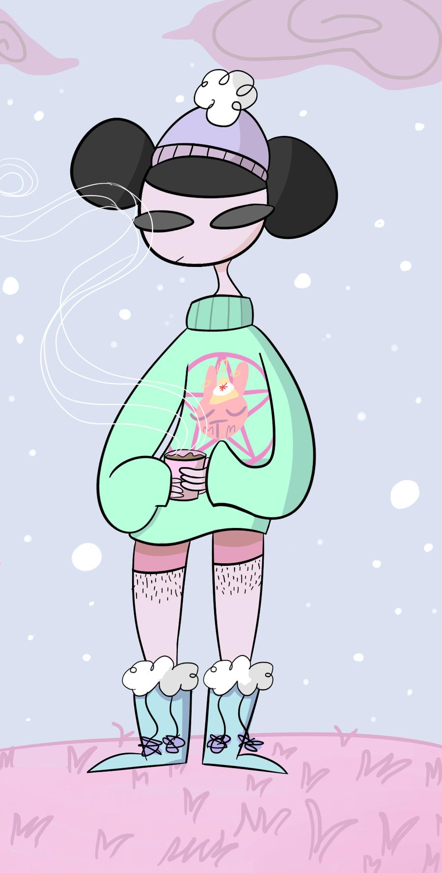 winter is warmer by ectoqueen on DeviantArt