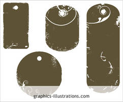 Tag shapes Photoshop brushes by bsilvia