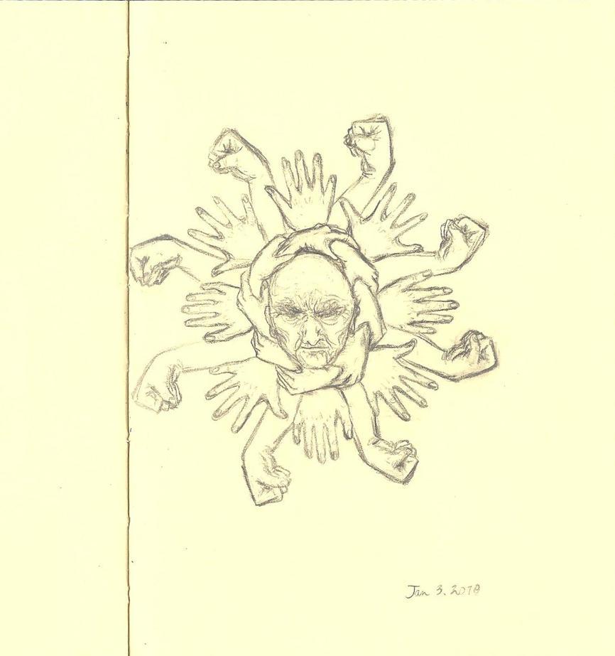 Old Man Sun by decomposerdoll