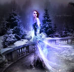 Magic amulet Snow Queen