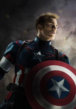 Captain America (New Photoshop Series - Marvel)