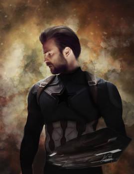Captain America - Infinity War (Digital Drawing)