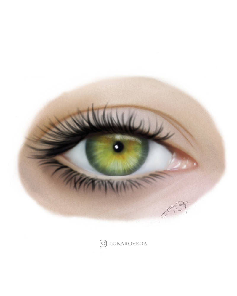Eye (Digital Drawing) by lunaroveda
