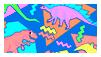 80's pattern stamp by sosse123
