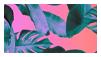 aesthetic plants stamp II