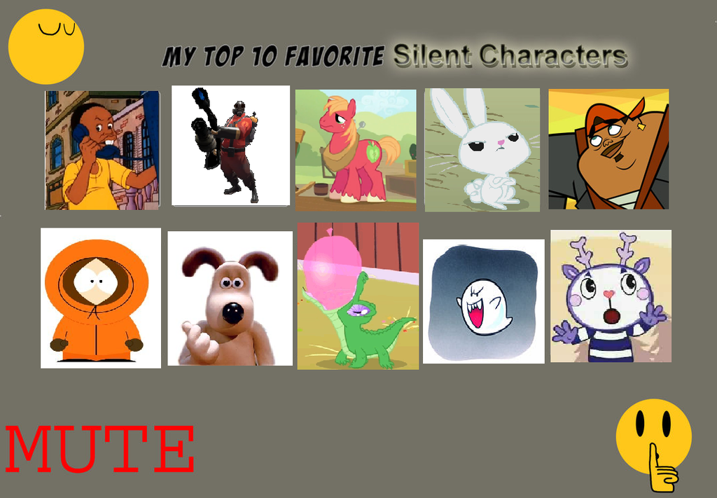 My top 10 favorite silent characters by Thetomboyartist on ...