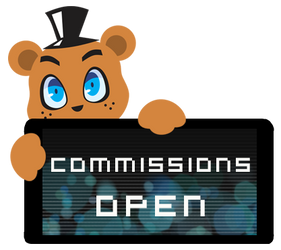 Freddy Commissions Open Stamp