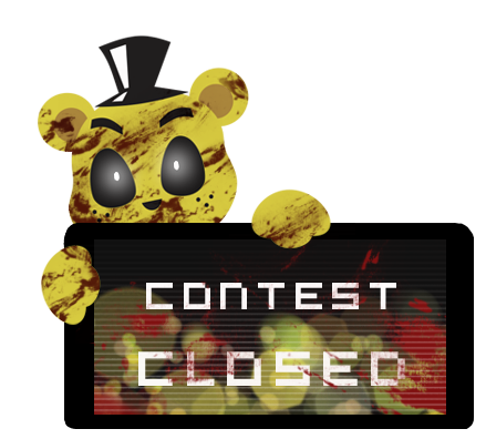 Golden Freddy Contest Closed Stamp by Ink-cartoon