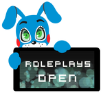 Toy Bonnie Roleplays Open Stamp by BlueBismuth