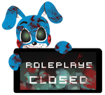 Toy Bonnie Roleplays Closed Stamp by BlueBismuth
