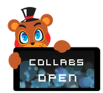 Toy Freddy Collabs Open Stamp by BlueBismuth