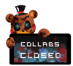 Toy Freddy Collabs Closed Stamp by BlueBismuth