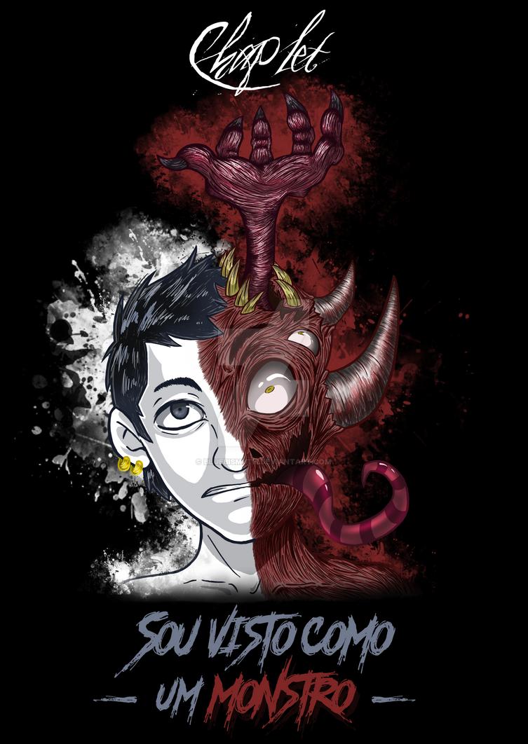 Sou visto como um monstro - Chaplet by Ink-cartoon