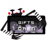 Marionette Gifts Open Stamp by BlueBismuth