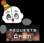 Ennard Requests OPEN Stamp by BlueBismuth
