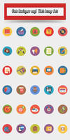 Flat-business-and-web-icons-set