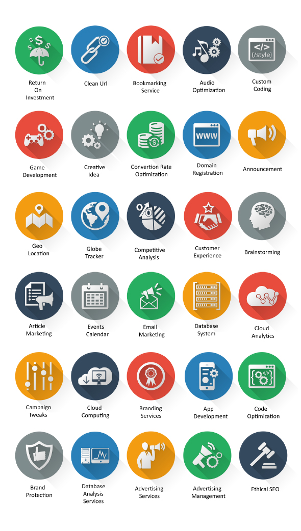 Web Design Icons For Sale