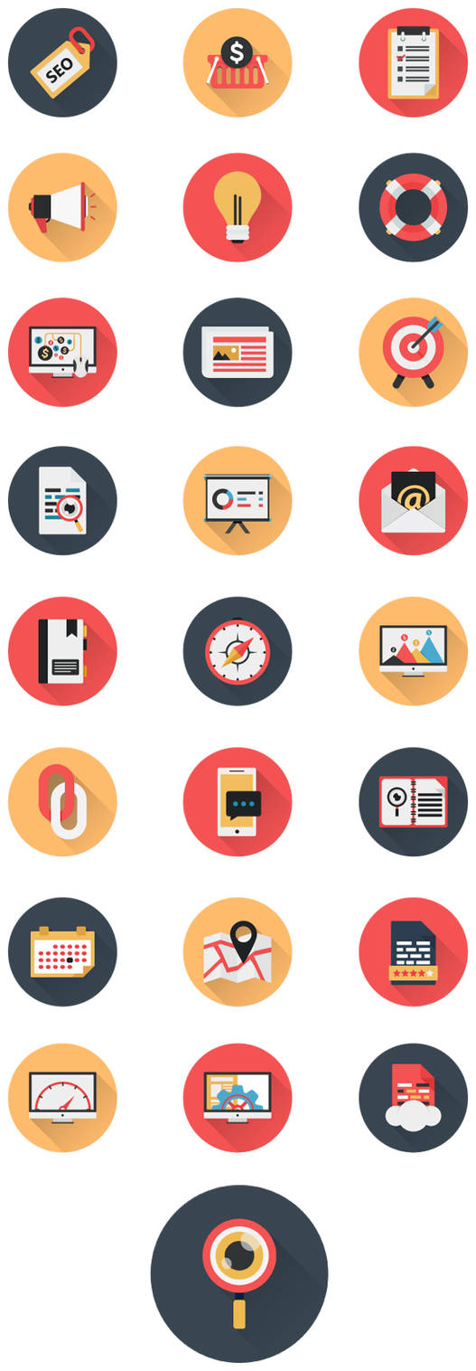 Business Icons and Web Icons Set