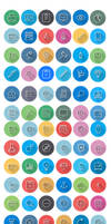 Flat Icons - Line Icons   FlatLineIcon by CURSORCH