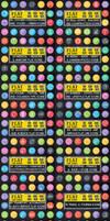 DOWNLOAD : 1600 Round Icons Bundle