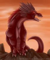 Red demon by Siriliya