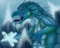 Sea monster by Siriliya
