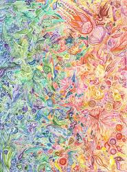 Zentangle world by Siriliya