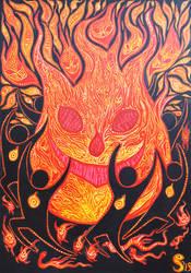 Spirit of fire by Siriliya