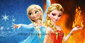 Anna of Ice   Elsa of Fire