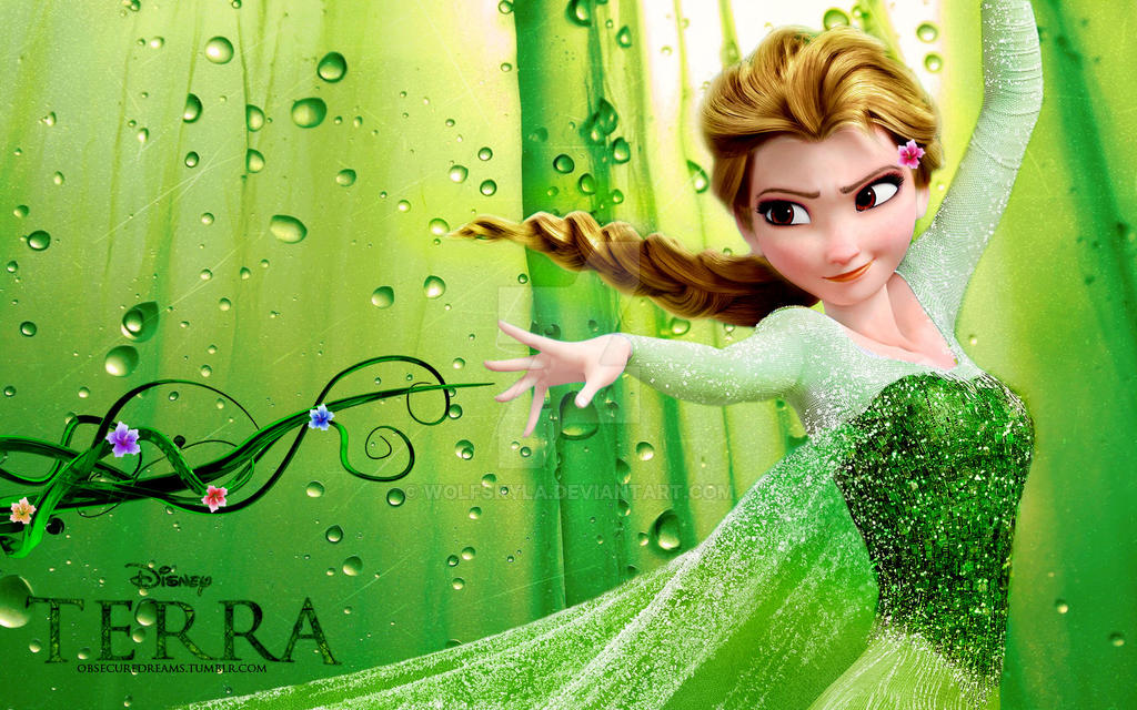 Earth Elsa: Terra by wolfskyla