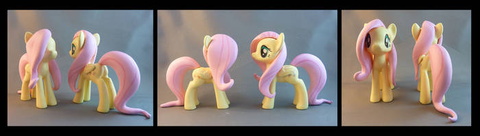 Fluttershy Commissions by krowzivitch