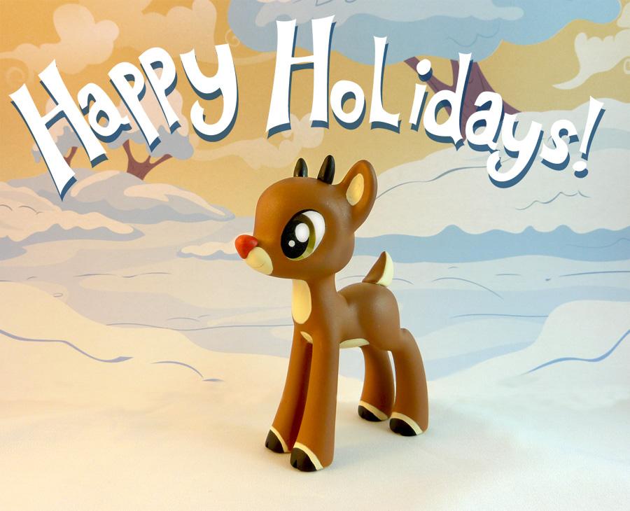 Happy Holidays YO by krowzivitch