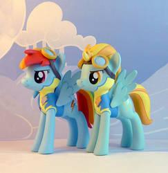 Wonderbolt Cadets by krowzivitch