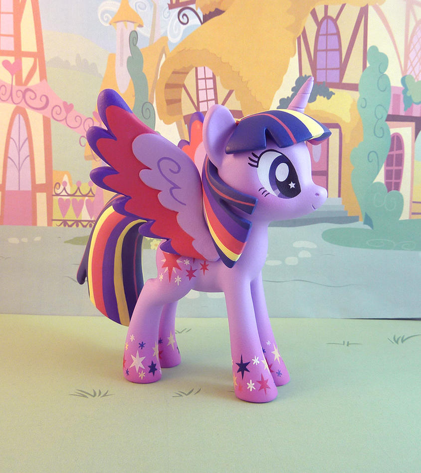 Gaudy Purple Horse by krowzivitch