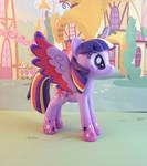 Gaudy Purple Horse