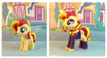 Sunset Shimmer two ways by krowzivitch