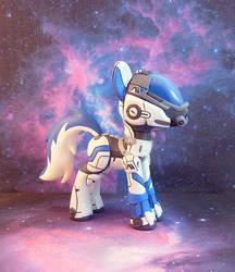 Andromeda Pony by krowzivitch