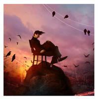 flyingdown by Studiomouette