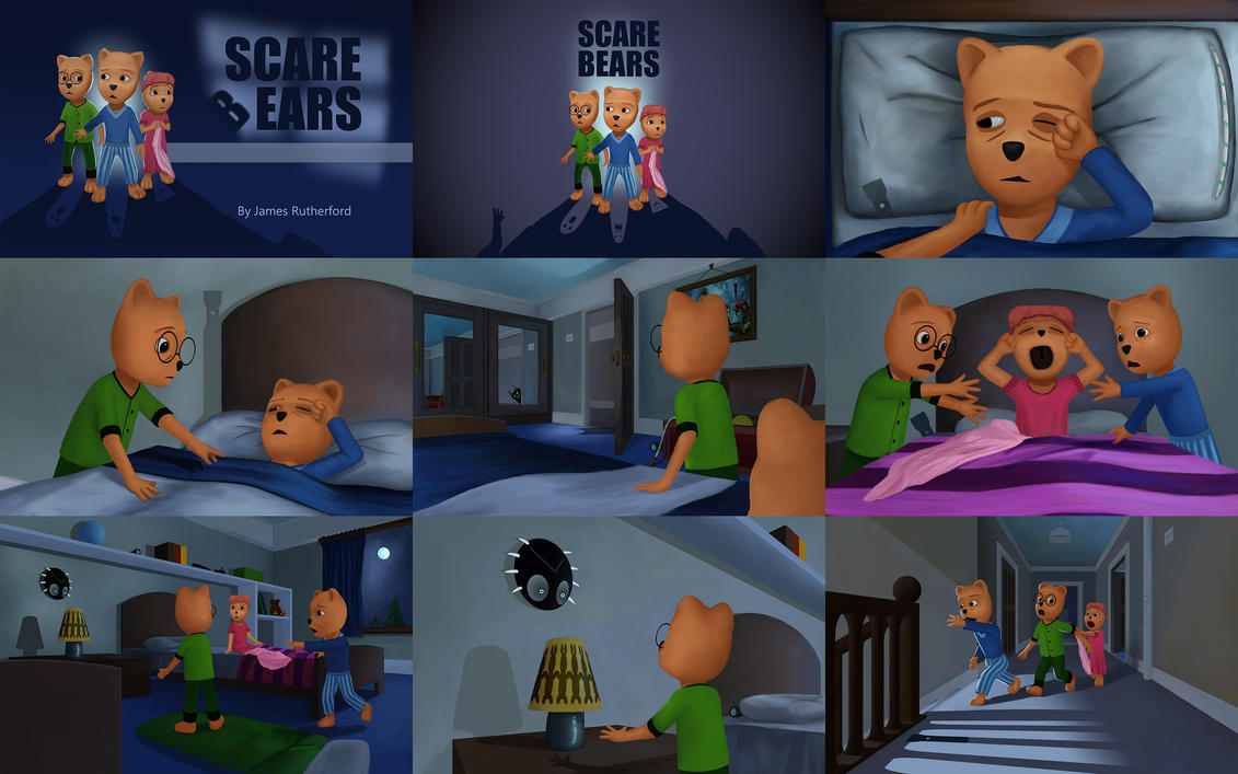Scare Bears - Out Now Preview by RuddsArt