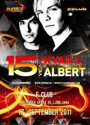 Kyau and Albert in Ljubljana