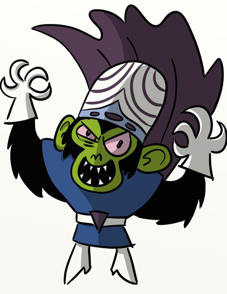 Evil Cartoon Characters 90s : Mojo jojo by zachwallen on deviantart