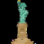 Lady Liberty: Transparent BG