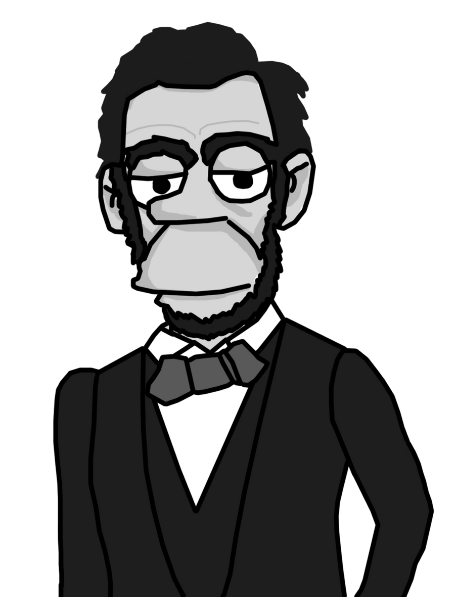 Simpsons Lincoln by tattoartist9