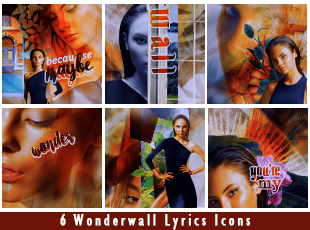Wonderwall Icon Set by Mocking-The-Jay