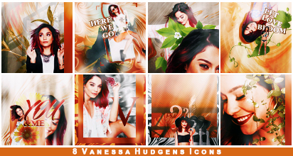 Vanessa Icon Set. by Mocking-The-Jay