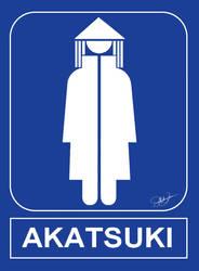 AKATSUKI RESTROOM by free-energy03