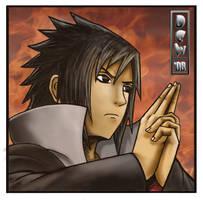 Uchiha Sasuke by free-energy03